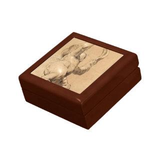 Joshua Reynolds:Sketch of Putto Holding a Sash Trinket Box