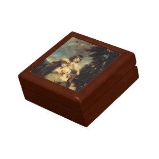 Joshua Reynolds- The Brummell Children Jewelry Box
