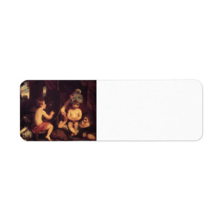 Joshua Reynolds- The Infant Academy Custom Return Address Label