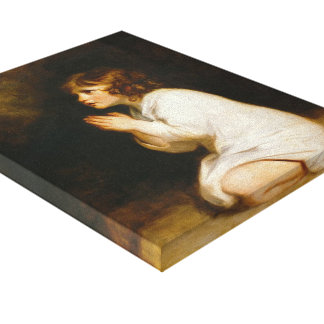 Joshua Reynolds- The Infant Samuel Gallery Wrap Canvas