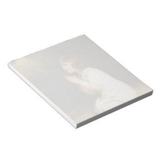 Joshua Reynolds- The Infant Samuel Memo Note Pad