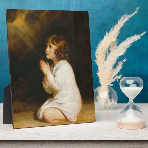 Joshua Reynolds- The Infant Samuel Photo Plaques