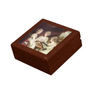 Joshua Reynolds- The Ladies Waldegrave Gift Boxes