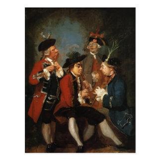 Joshua Reynolds-Thomas Kennedy, JamesCaulfeild, sa Tarjeta Postal