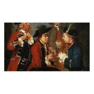 Joshua Reynolds-Thomas Kennedy,JamesCaulfeild,Ward Business Card Template
