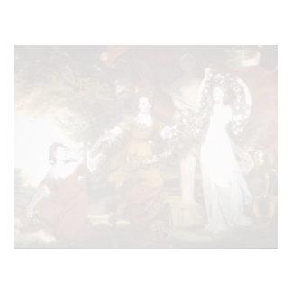 Joshua Reynolds- Three Ladies Adorning a Hymen Letterhead Template