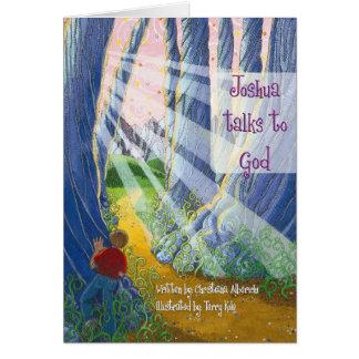 Joshua Talks to God Coverart Card