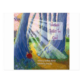 Joshua Talks to God Coverart Postcard