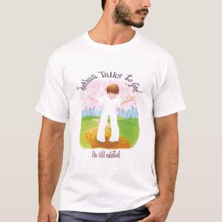 Joshua Talks to God - I'm All White T-Shirt