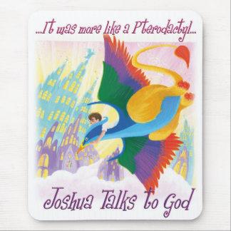 Joshua Talks to God - Pterodactyl Mouse Pad