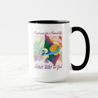 Joshua Talks to God - Pterodactyl Mug