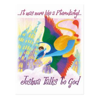 Joshua Talks to God - Pterodactyl Postcard