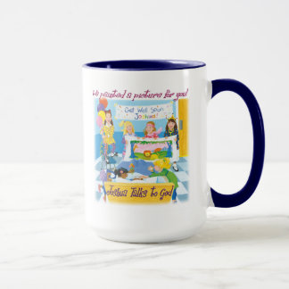 Joshua Talks to God - We painted a Picture for you Mug