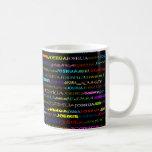 Joshua Text Design I Mug II