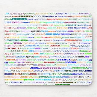 Joshua Text Design II Mousepad