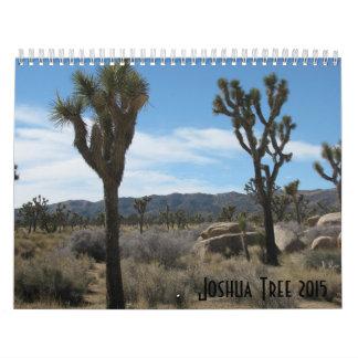 Joshua Tree 2015 Calendar