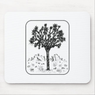 Joshua Tree (Border) Mouse Pad
