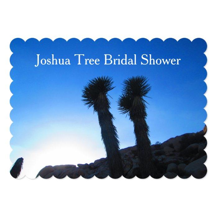 Joshua Tree Bridal Shower 5x7 Paper Invitation Card