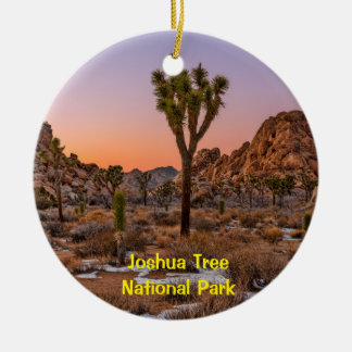 Joshua Tree Ceramic Ornament