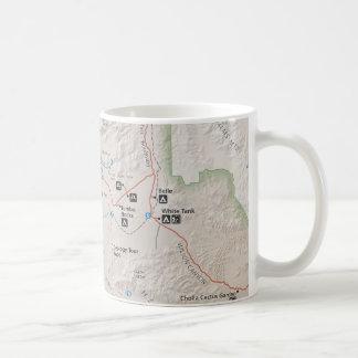 Joshua Tree map mug
