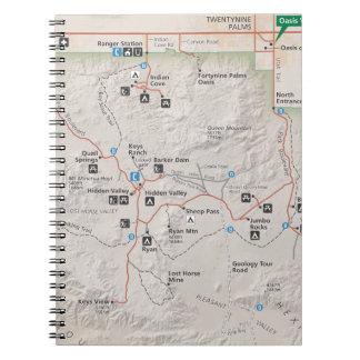 Joshua Tree map notebook