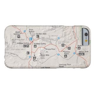 Joshua Tree map phone case