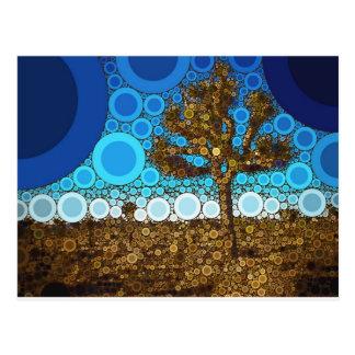 Joshua Tree Mosaic Postcard