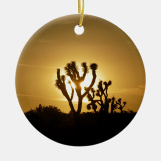 Joshua Tree National Park 5 Ceramic Ornament