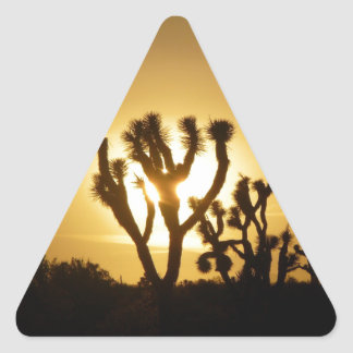 Joshua Tree National Park 5 Triangle Sticker