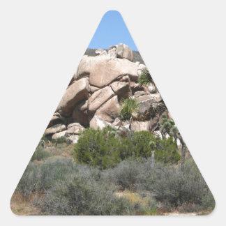 Joshua Tree National Park 7 Triangle Sticker