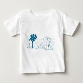 Joshua Tree National Park Art Baby T-Shirt