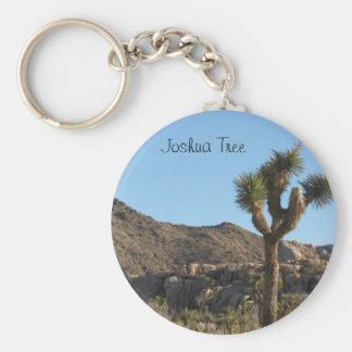 Joshua Tree National Park Basic Round Button Keychain