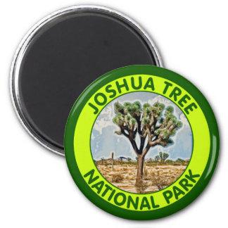 Joshua Tree National Park, California 2 Inch Round Magnet