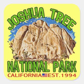Joshua Tree National Park, California Square Sticker