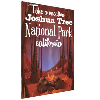 Joshua Tree National Park, California travel Canvas Print