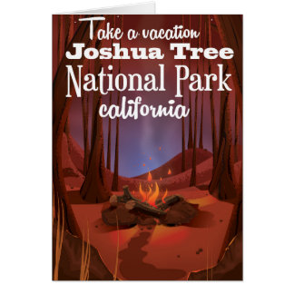 Joshua Tree National Park, California travel Card