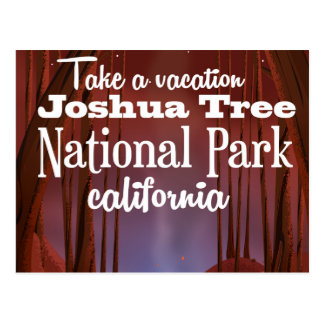 Joshua Tree National Park, California travel Postcard