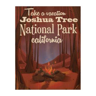 Joshua Tree National Park, California travel Wood Print