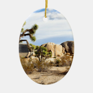 Joshua Tree National Park Ceramic Ornament