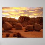 Joshua Tree National Park - Four Rocks Posters