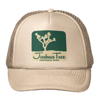 Joshua Tree National Park - Green Trucker Hat
