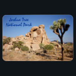 """Joshua Tree National Park Magnet<br><div class=""""desc"""">America is a great place for ideas. One the best ideas was our National Parks. Joshua Tree is a unique park among the National Parks.</div>"""