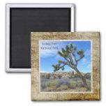 Joshua Tree National Park Magnet! 2 Inch Square Magnet