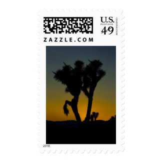 Joshua Tree National Park Postal Stamp