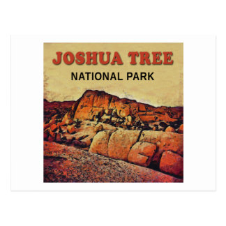 JOSHUA TREE National Park Postcard