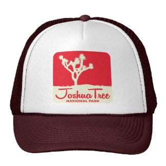 Joshua Tree National Park - Red Trucker Hat