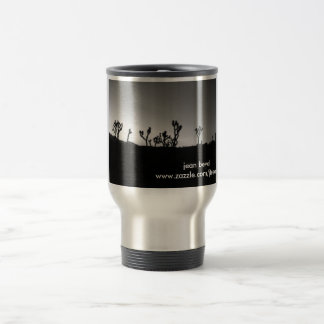 joshua tree panorama 15 oz stainless steel travel mug