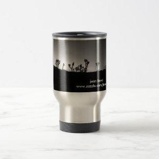 joshua tree panorama travel mug