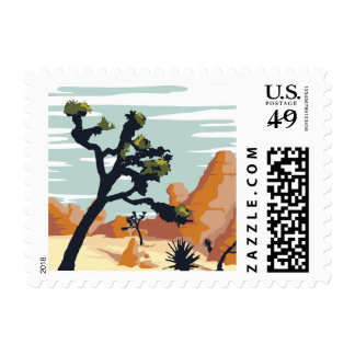Joshua Tree Postage Stamps