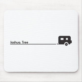 Joshua Tree Trailer Camping Mouse Pad